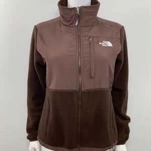 The north face Women's Size S Brown Fleece Jacket
